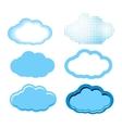 Clouds Set vector image