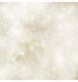 Soft blurry winter Christmas vector image vector image