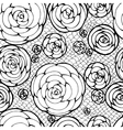 lacy seamless pattern vector image vector image