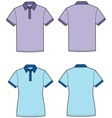 Polo t shirt vector image vector image