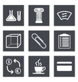Icons for Web Design and Mobile Applications set 6 vector image vector image