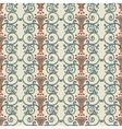 Seamless pattern stylized the ancient Roman vector image