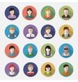 People userpics icons vector image
