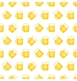 pint tankards background vector image