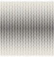 Seamless Black and White Halftone Random vector image