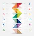 2017 Calendar colorful concept design vector image