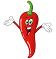 chili pepper cartoon vector image vector image