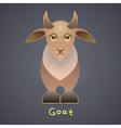 Fanny goat vector image