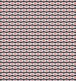 Sushi seamless background texture Asian pattern vector image