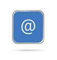 internet adress icon vector image