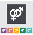 Lesbian sign vector image