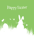 easter bunny background 2502 vector image