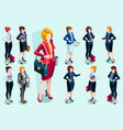 isometric people people images vector image