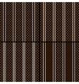 Brown polka dot vector image vector image