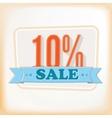 Discount labels 10 vector image vector image