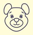 tedi bear4 vector image