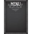 Food menu restaurant template design Flyer cafe vector image