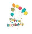 Phase happy birthday vector image