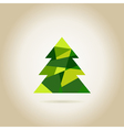 Christmas tree6 vector image