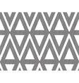 Seamlles pattern triangle vector image