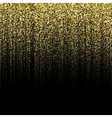 golden particle background vector image