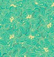 Abstract seamless pattern with yellow and blue vector image