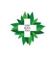 logo health vector image