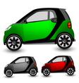 small city car vector image