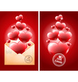 Congratulation on Valentines Day vector image vector image