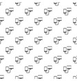 connection phone pattern vector image