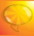 bubble talk vector image
