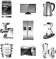icons technic kitchen vector image