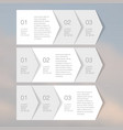 Web Elements Tab Paper vector image