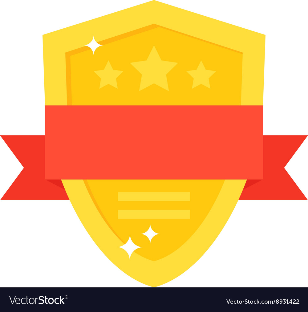 Shield award vector