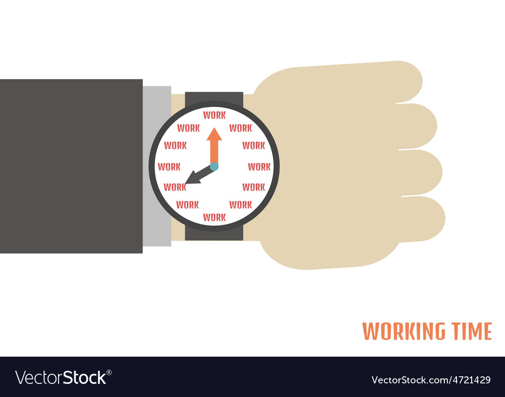 91working time vector