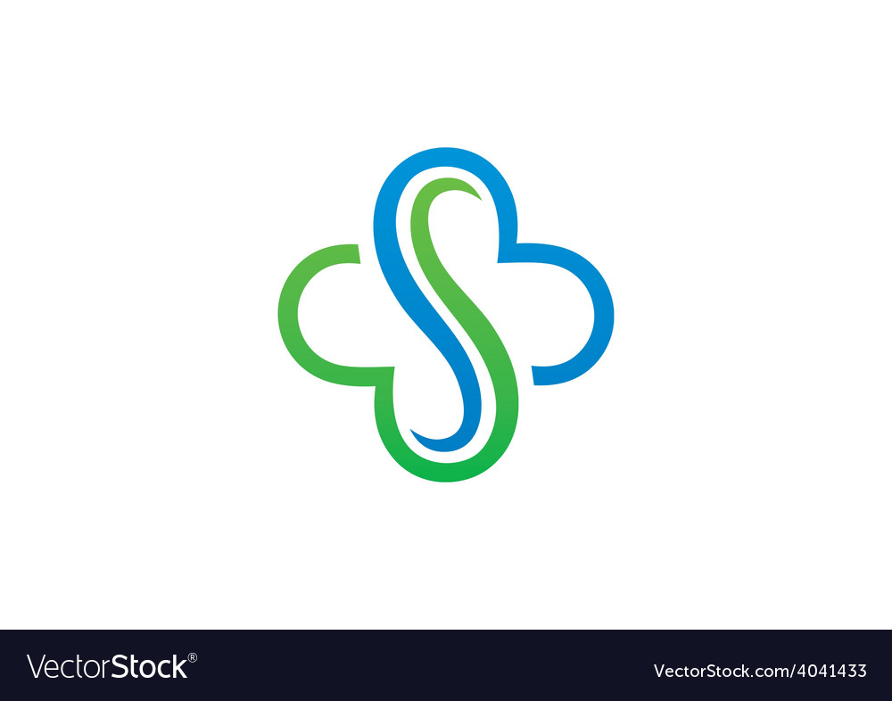 Abstract s decorative logo vector