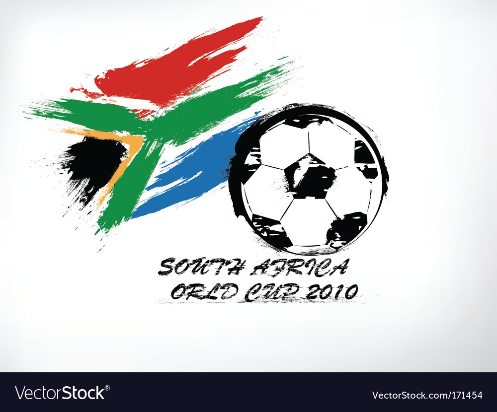 World cup south africa vector