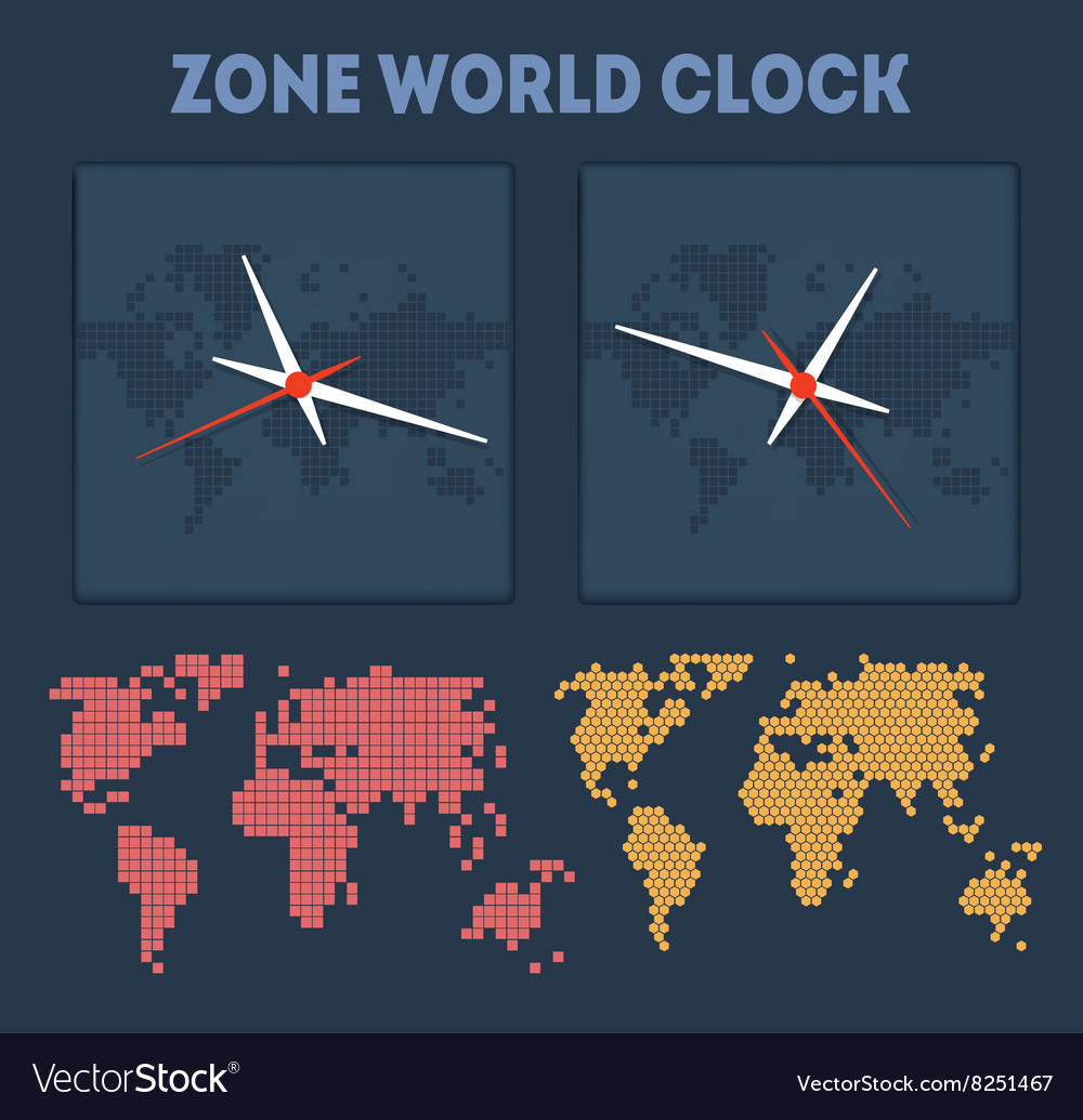 Zone world time vector