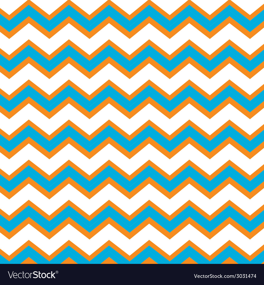 Chevron zig zag seamless background vector