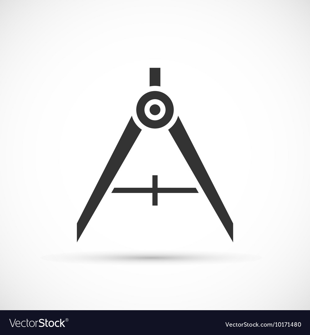 Divider icon on white background vector