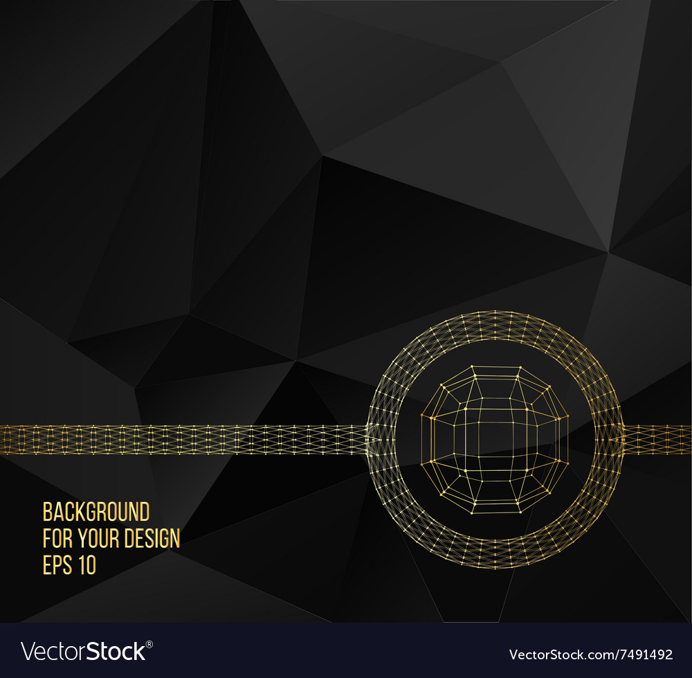 Abstract creative concept background ball vector