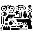 Crime vector image