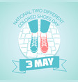3 may national two different vector image