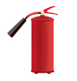 Red Fire extinguisher vector image vector image