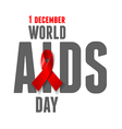 AIDS Awareness Day vector image