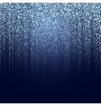 winter particle background vector image