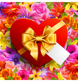 decorative gift vector image