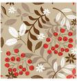 garden floral seamless vector image vector image