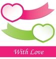 valentines heart vector illustration vector image vector image
