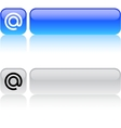 At square button vector image